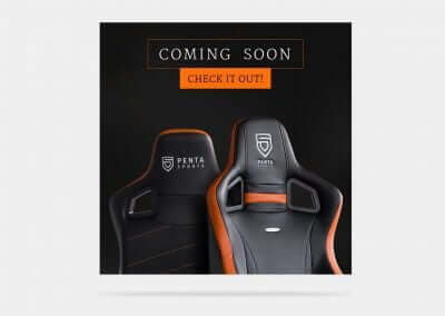 Design für eSport Gaming Chair